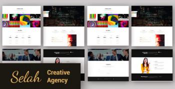 Selah - Сreative Agency WordPress Theme