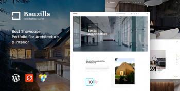 Bauzilla - Architecture & Interior WordPress Theme