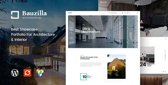 Bauzilla - Architecture & Interior WordPress Theme