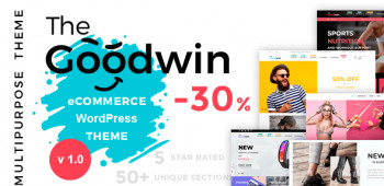Goodwin — Multipurpose e-commerce WordPress theme