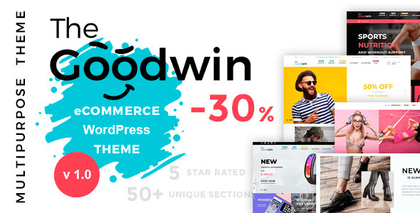 Goodwin — Multipurpose e-commerce WordPress theme